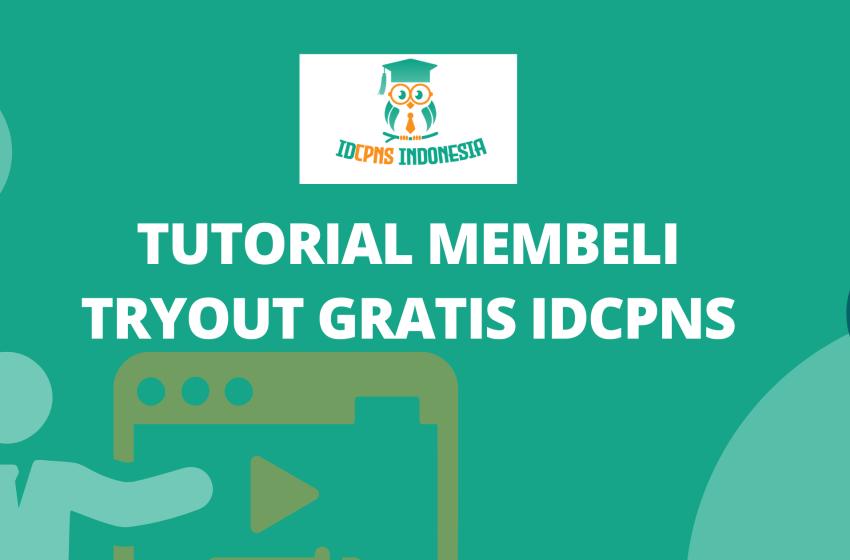 Tutorial Membeli Tryout Gratis IDCPNS