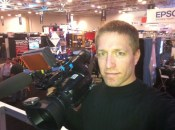 Anthony on the WFX show floor