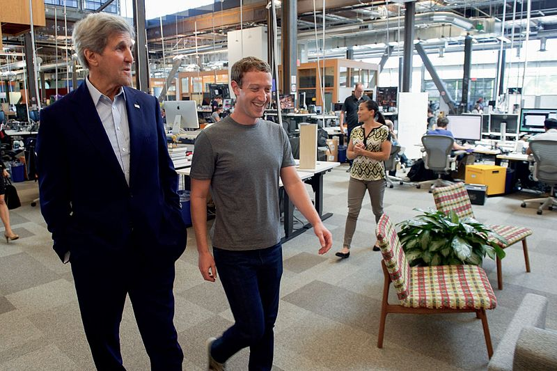 Image result for Photos of facebooks buildings and zuckerberg
