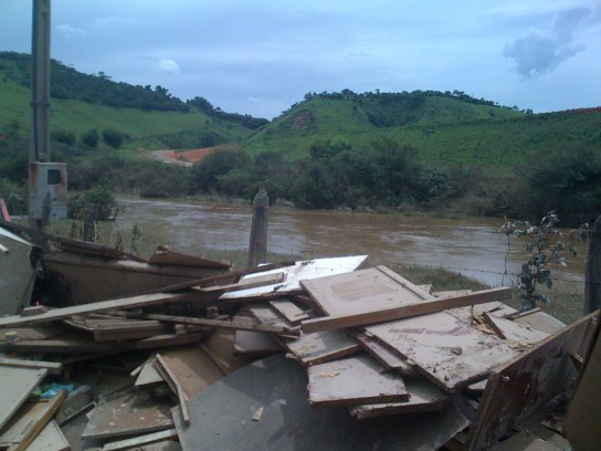 The 2010 flood in Paraitinga. © Luciano Dinamarco