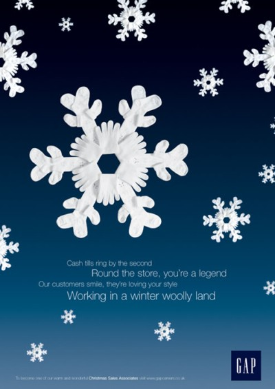 GAP-snowflake-creative-job-ad
