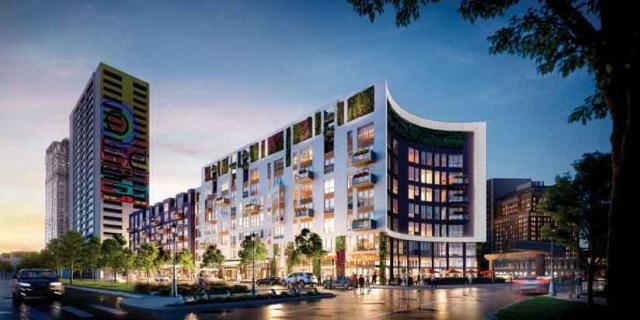 novo desenvolvimento urbano com mapas 3D - imagem 3