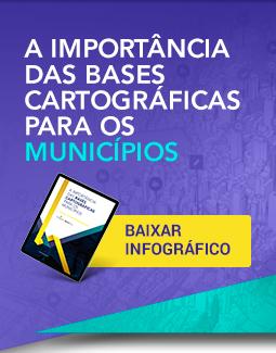 Infográfico: A importância das bases cartográficas para os municípios - Portal GEO