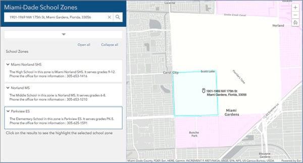 Zone Lookup - Novidades do ArcGIS Online