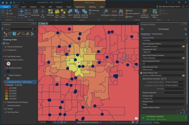 Saiba de todas as atualizações do ArcGIS 10.7.1 - ArcGIS Business Analyst