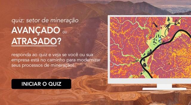 Tecnologias essenciais para o setor de mineração - QUIZ