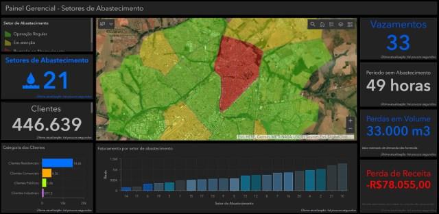 Empresas de Saneamento usam o GIS em resposta à crise do COVID-19 - imagem 3