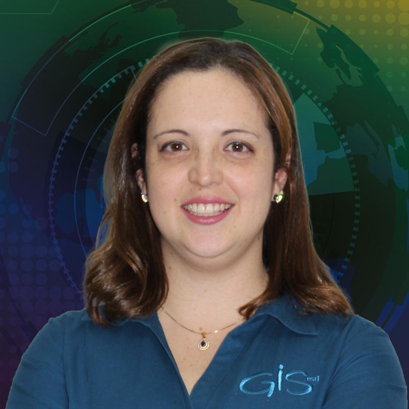 Lilian Almeida - Gerente de Sucesso do Cliente - Imagem Esri - Autora Portal GEO