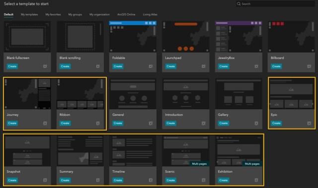 templates para criar apps em minutos