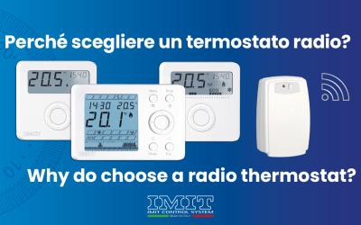 Perché scegliere un termostato radio?