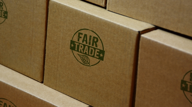 emballage avec logo fair trade