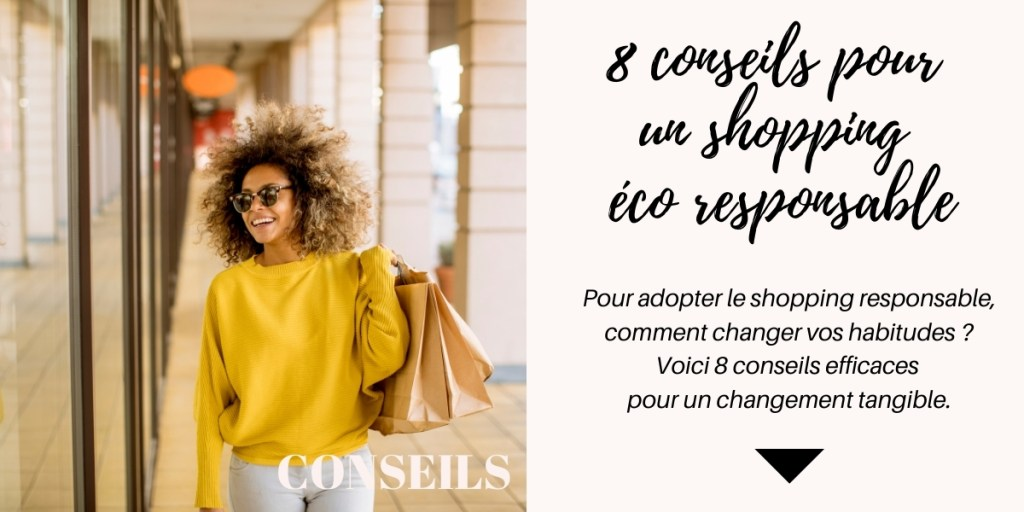 Réussir à faire du shopping éco responsable