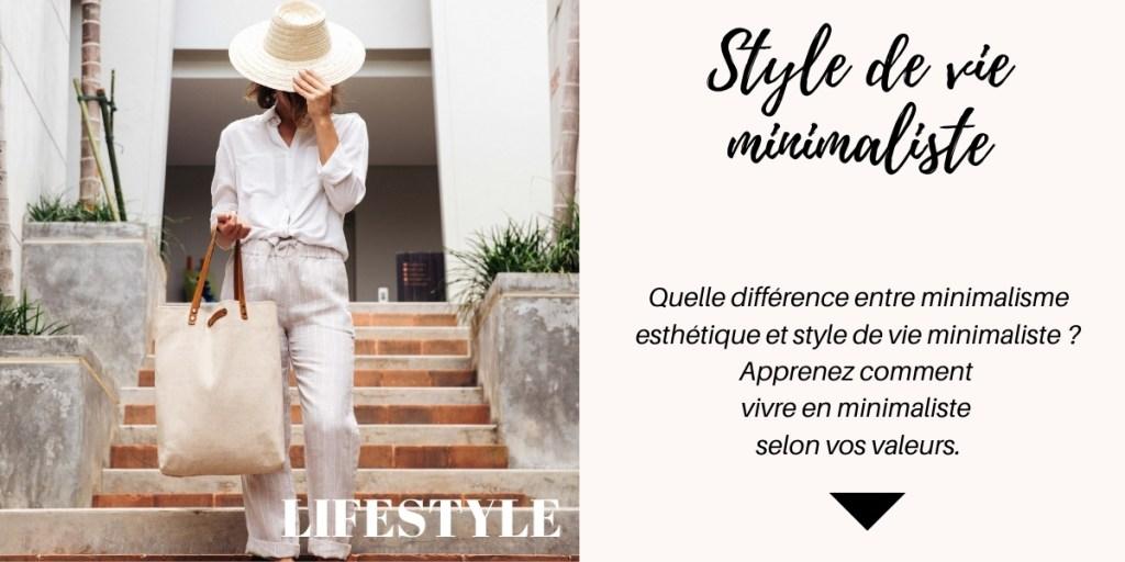 Vivre en minimaliste