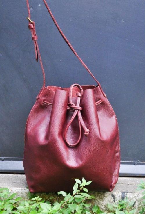 grand sac seau cuir cabas femme