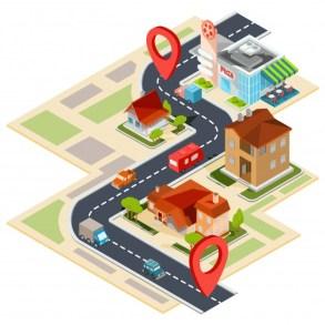 mapas y geo cercas para las empresas