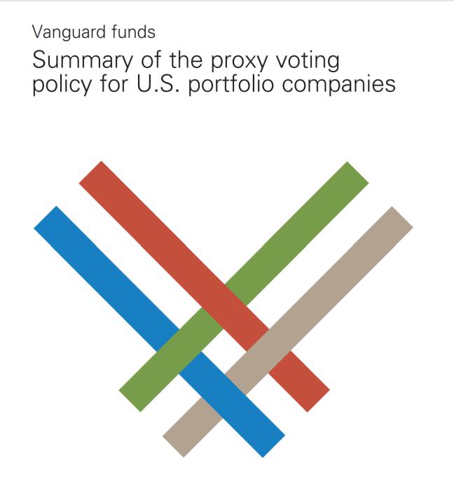 Vanguard Proxy Voting