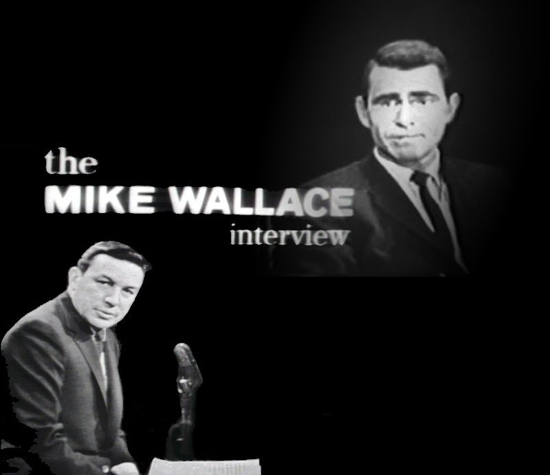 Mike Wallace Talks With Rod Serling