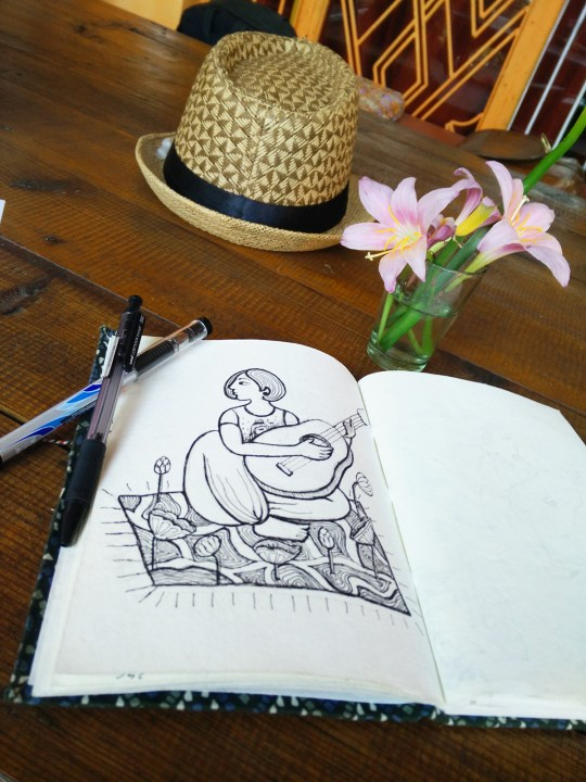 Gargi Chandola notebook for sketching