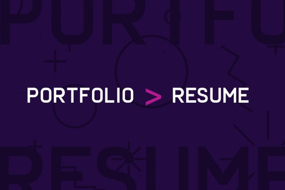 graphic design portfolio greater than resume