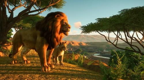 Planet Zoo Animal Lions