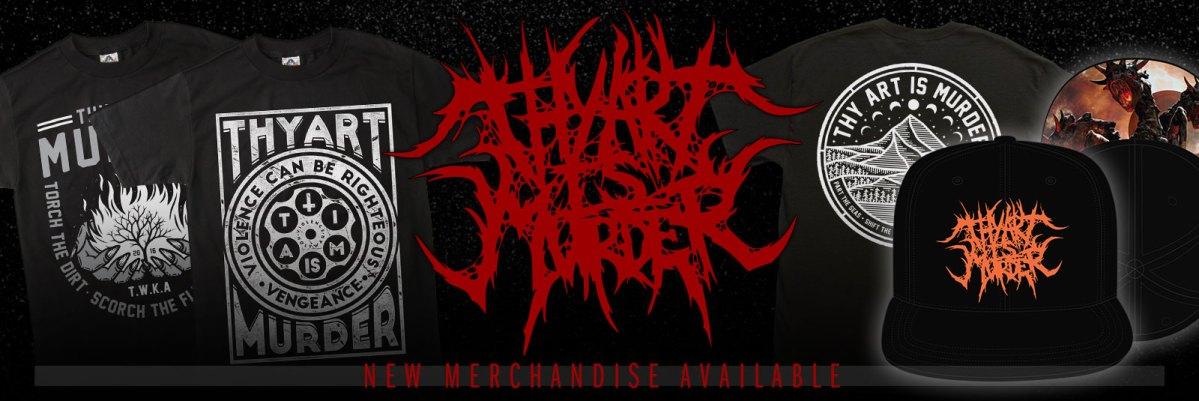 Thy Art Is Murder new line + shirt appears in Power Rangers Trailer!