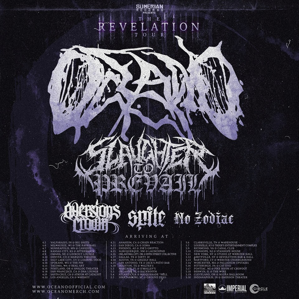 Aversions Crown Announce First US Tour!