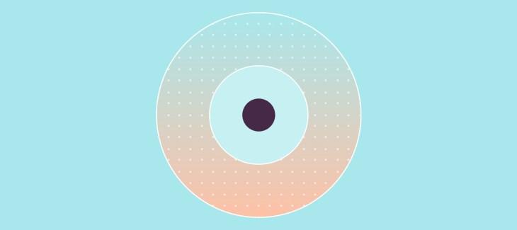 immagine iconica Machine Learning, cerchi concentrici