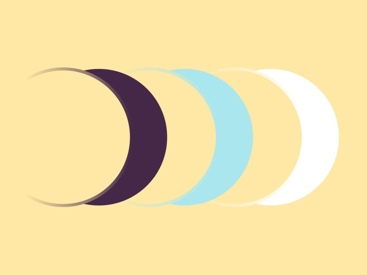 tre lune, rappresentazione grafica del modo in cui l'intelligenza artificiale aiuta a ricordare di prendere le medicine