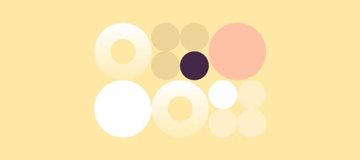 serie di cerchi diversi, simbolo delle diverse voice of the customer, opinioni dei consumatori