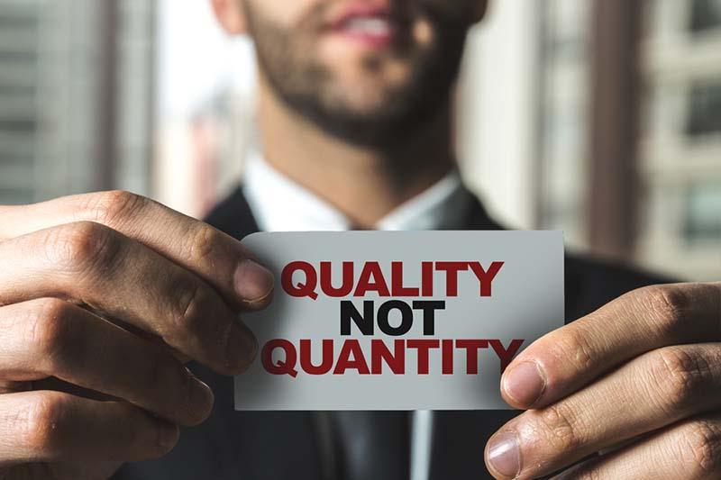 Kualitas Bukan Kuantitas