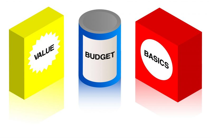 Belanja Sesuai Kebutuhan dan Anggaran