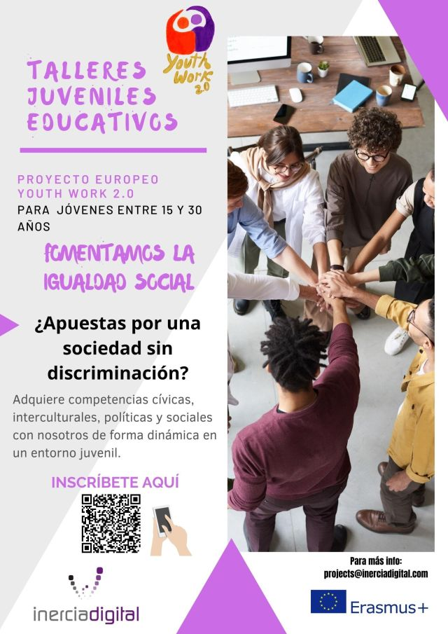 Poster Talleres Juveniles Youth Work 2.0