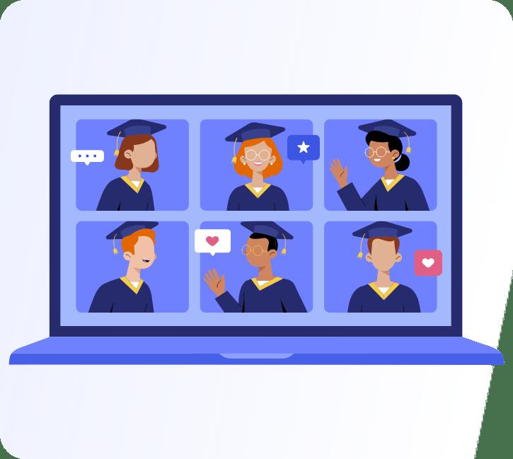 Virtual graduations