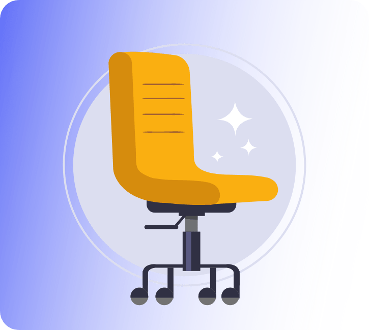 Accessibility accomodations: Yellow Chair