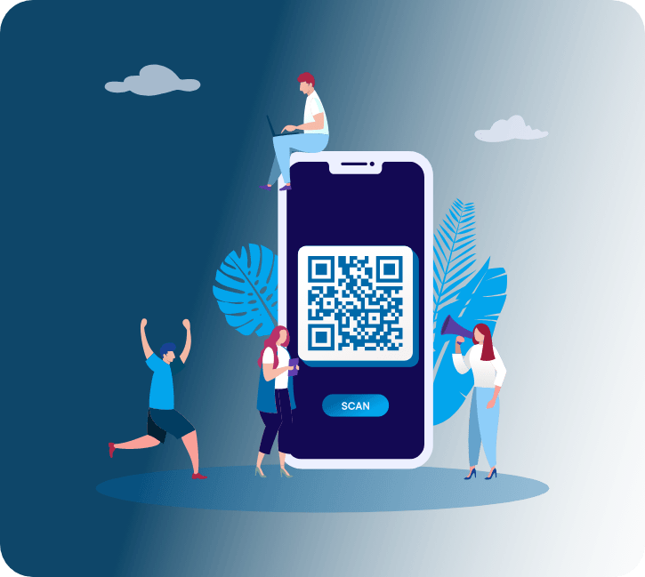 Event check-in solution QR code
