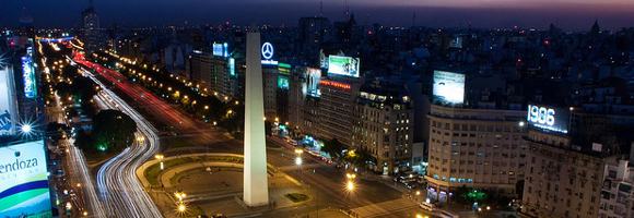 Aires Plus Monde Large La Route Du 9 Argentine Julio La Buenos De