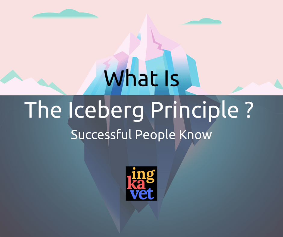 What Is The Iceberg Principle - Successful People Know (1)