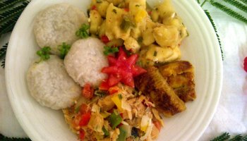 Recipe the national dish of bosnia and herzegovina bosanski lonac recipe the national dish of saint kitts and nevis stewed saltfish with spicy plantains forumfinder Image collections