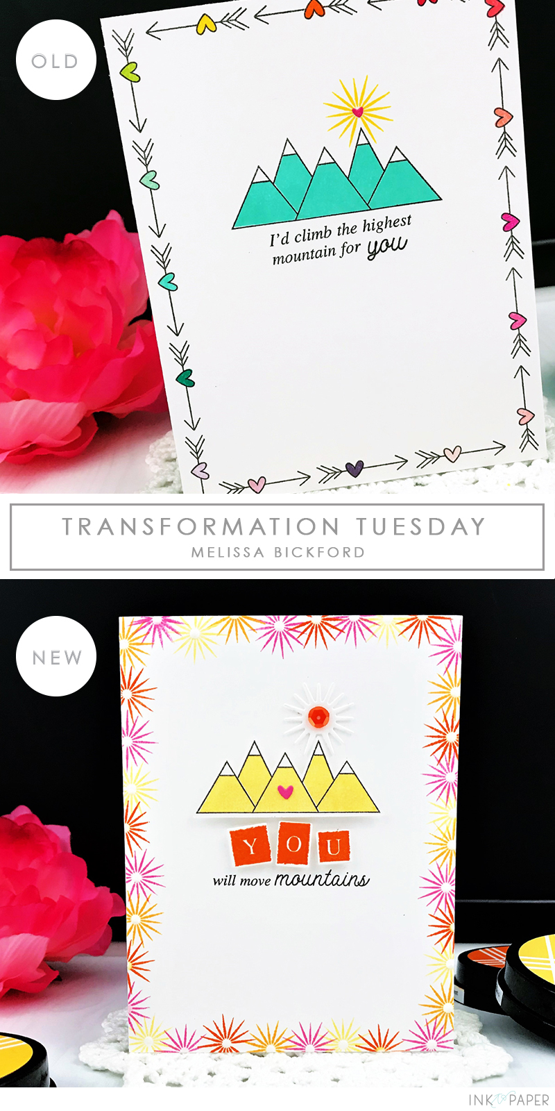 Ink to Paper - Melissa Bickford - May 2019 - Transformation Tuesday - Simply Sweet: You - Graduation Card