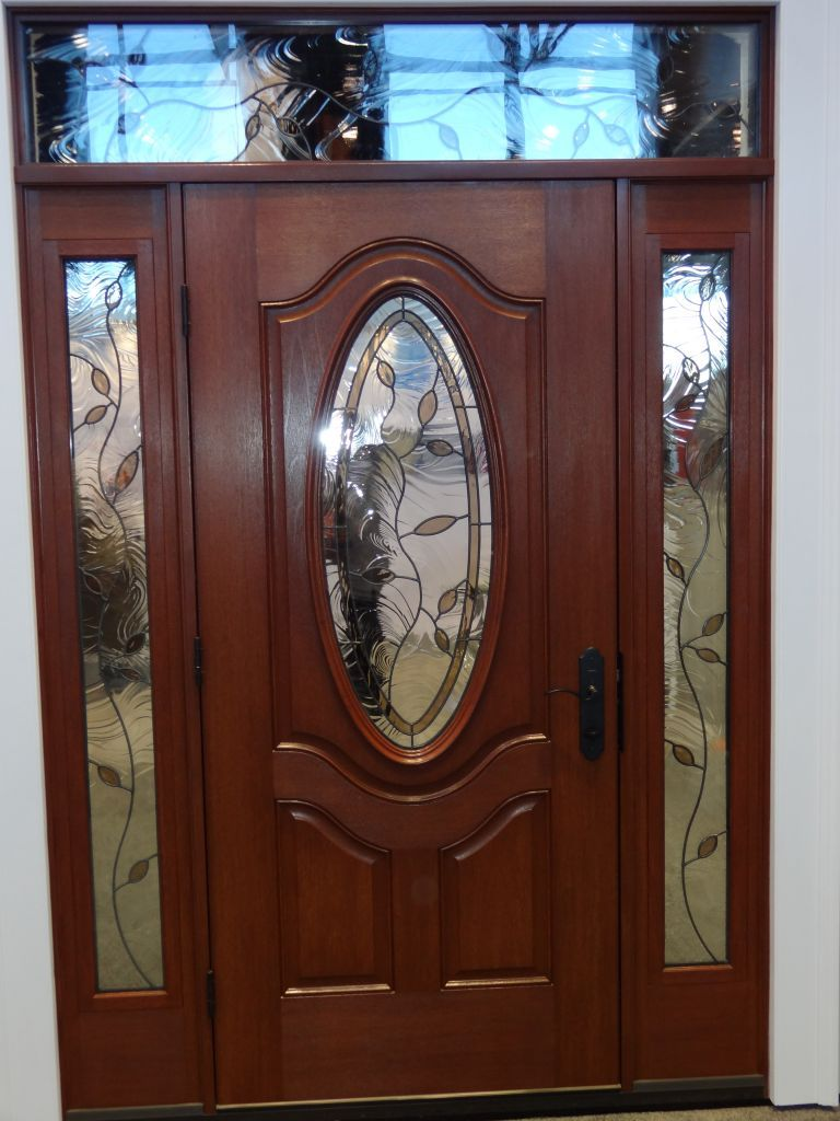 Decorative Front Door Glass Exterior Interior Doors Beveled Fluted Transom Glass Cleveland Columbus Cincinnati Ohio
