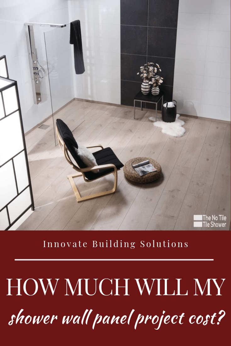 how much shower wall panels costs