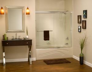Acrylic Bathtub Shower Wall Surrounds Enclosure Stall