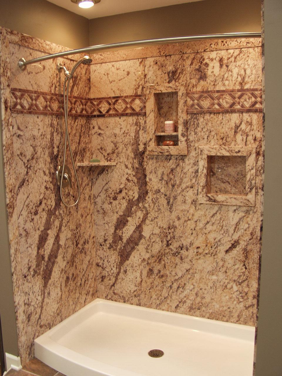 shower wall panels cheaper than tile
