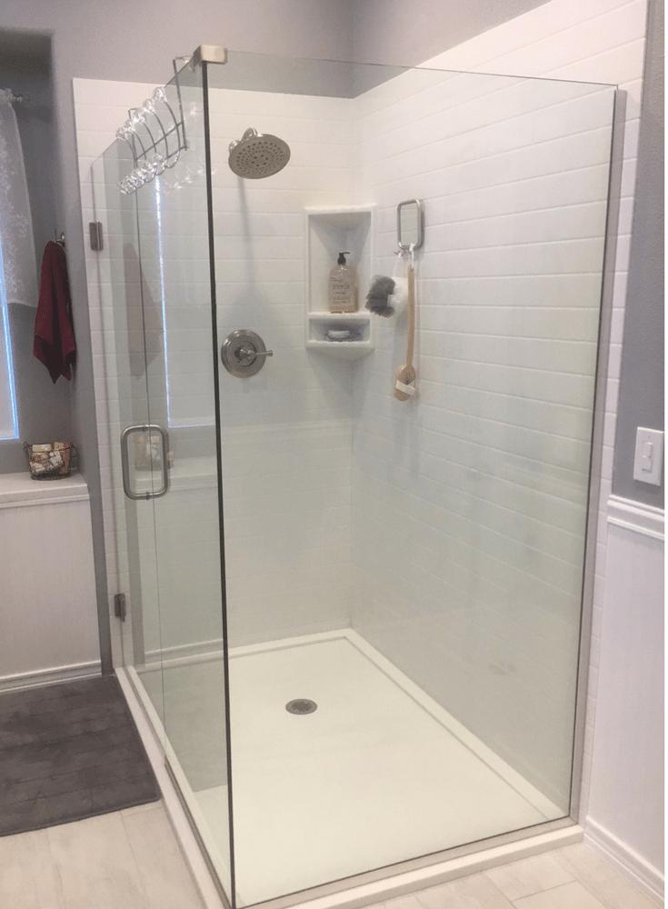 right shower base or shower floor pan