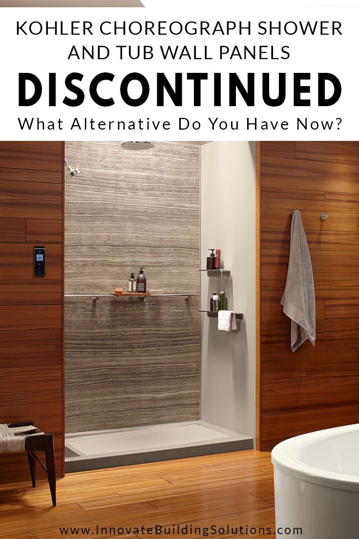 kohler choreograph shower and tub wall