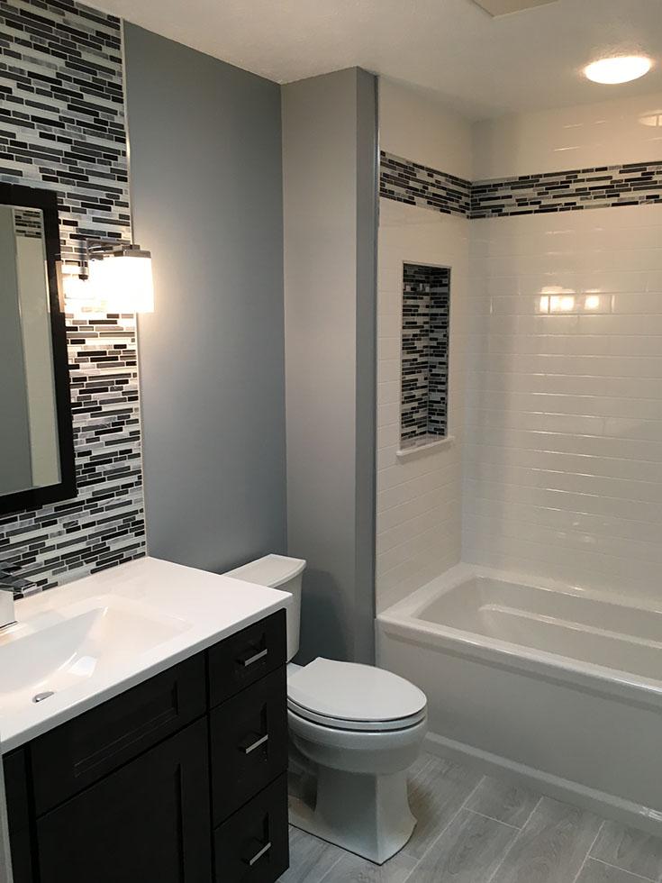 ceramic tile shower walls
