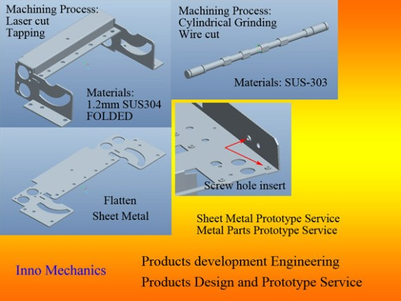 We apply latest solid state laser technology, providing accurate cutting with minimum distortion. Sheet metal fabricated parts provide light weight, economic and quick solution. Materials: Aluminium, Steel, Stainless steel… Fabrication format: PDF and DXF file format.