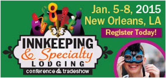PAII Innkeeping Conference | Innkeeping & Specialty Lodging Conference | January 2015