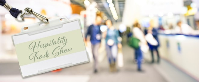 Hospitality trade shows are a great way to keep up to date in the industry.