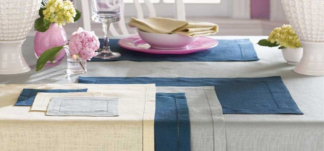 Sferra Festival Table Linens available at InnStyle